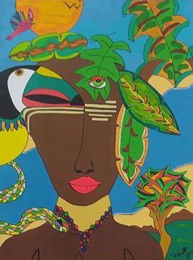 """""""A Garota da Amazônia"""